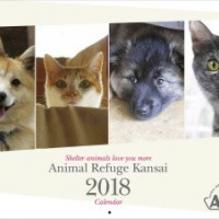 Animal Refuge Kansai ARK 2017 calendars for sale