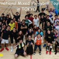 The 3rd International Mixed Volleyball Tournament in Tokyo