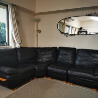 Pure leather SOFA, 5 seater